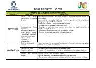 CURSO DO PROPAR - 6º ANO - Instituto Padre Machado