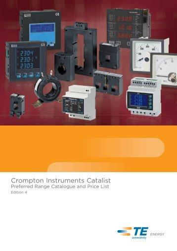 Catalist 2012 - Crompton Instruments