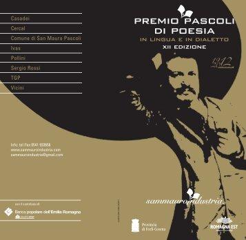 premio pascoli 2012 - Concorsi Letterari