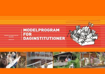 ModelprograM for daginstitutioner - JJW Arkitekter