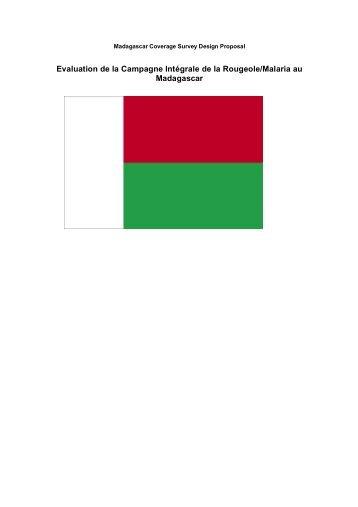 Evaluation de la Campagne Intégrale de la Rougeole/Malaria au ...