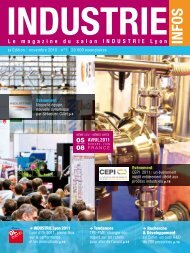 indusTrie lyon 2011 - Industrie-expo