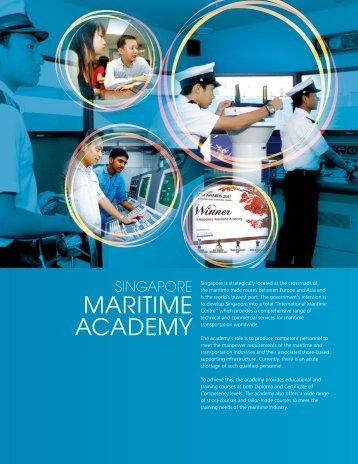 MARITIME ACADEMY - Singapore Polytechnic