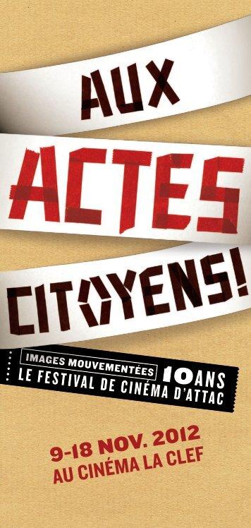 festival Images mouvementées - Contacter un comité local d'Attac