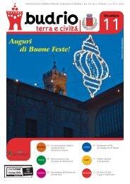 Notiziario comunale del mese dicembre 2011 - Comune di Budrio