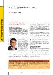 UE Unternehmensnachfolge-Final:ue Unternehmensnachfolge 2010