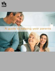 A guide to helping your parents - USAA