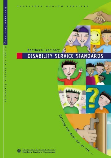 Northern Territory DISABILITY SERVICE STANDARDS - NT Health ...