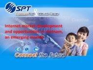 Internet market development and opportunities in ... - Beer and Peer