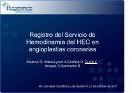 presentación - Hemodinamia