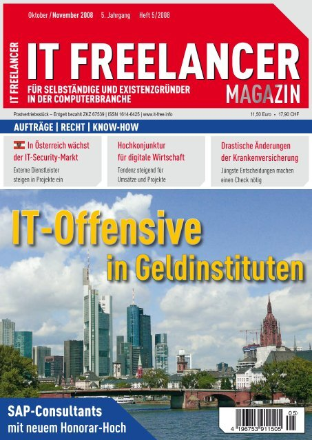 IT Freelancer Magazin Nr. 5/2008