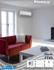 Wall Mount Heat Pump or Cooling Only - Daikin AC