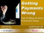 Getting Payments Wrong