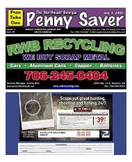 The Penny Saver - Hartwell Home Mart