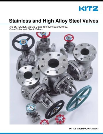 Stainless and High Alloy Steel Valves - Hasmak.com.tr