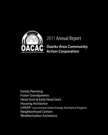 2011 Annual Report - oacac