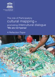 The Role of participatory cultural mapping in promoting intercultural ...