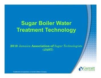 Boiler Water.pdf - The Jamaican Sugar Industry