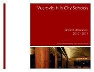 vhcs district almanac 2010-11 - Vestavia Hills City Schools
