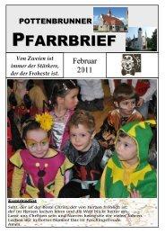 PFARRBRIEF - Pfarre Pottenbrunn
