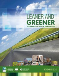 Leaner and Greener - Center for Environmental Excellence