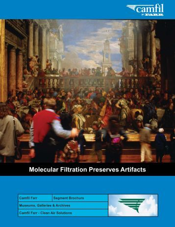 Museums, Galleries & Archives Brochure - Filterair.info