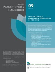 Download the handbook - Center for Environmental Excellence