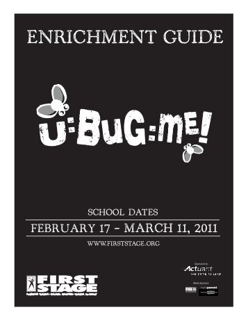 ENRICHMENT GUIDE - First Stage