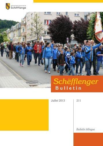 Bulletin 211 en PDF - Schifflange.lu