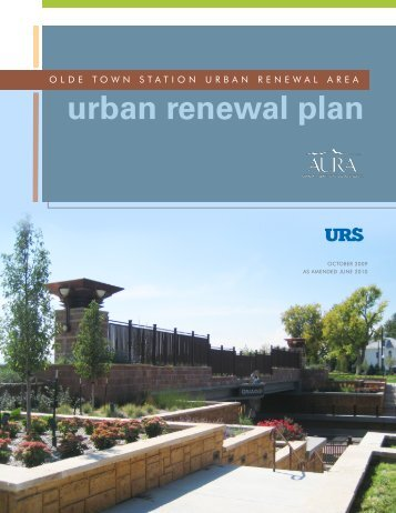 Amended Olde Town Station Urban Renewal Plan - Arvada