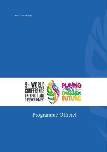 Programme Officiel