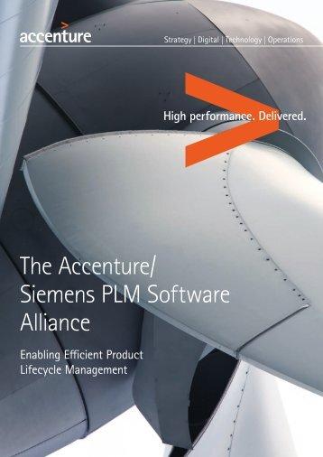 Accenture-Siemens-PLM-Software-Alliance