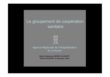 Colloque ARH du 23/06/2009 - Parhtage santé