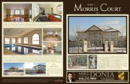 view sample brochure for Morris Court (pdf) - Mike Donia