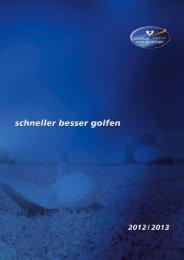 alle Golfkurse in unserem Katalog - German Golf Academy