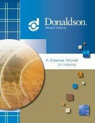 Corporate Capabilities Brochure - Donaldson Company, Inc. - India ...