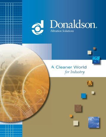 Corporate Capabilities Brochure - Donaldson Company, Inc. - India ...