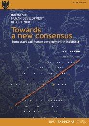 Indonesia Human Development Report 2001 - UNDP