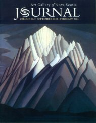 View this journal as a .pdf - Art Gallery of Nova Scotia