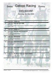 3. Mai 2009 DIELSDORF Rennen 2 - Galopp Racing Forms