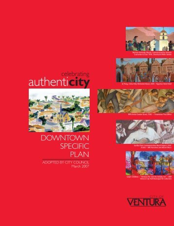 Downtown Specific Plan - City Of Ventura