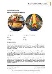 Auftraggeber: Indoo Spielwerk Hamburg Jahr: 2002 Standort ...