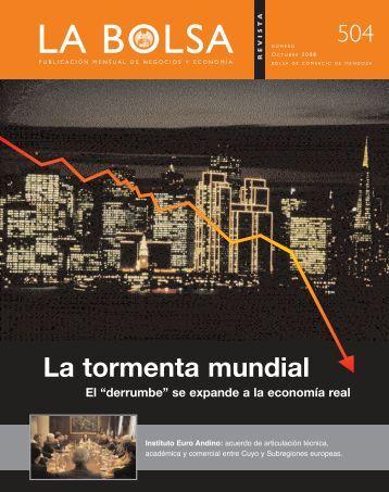 octubre 08 - Bolsa de Comercio de Mendoza