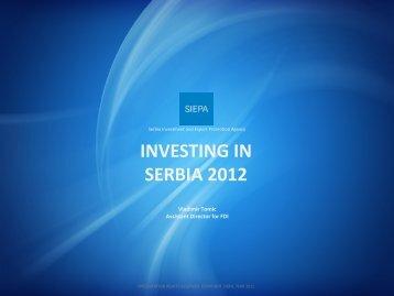 INVESTING IN SERBIA 2012 - Siepa