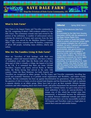 Dale Farm Bulletin issue 1.pdf - International Alliance of Inhabitants