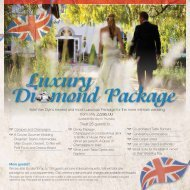 New Wedding Package Available - Hotel Van Dyk