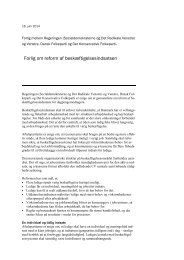 Aftale om en reform af beskæftigelsesindsatsen pdf