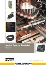 Parker_Motoren_Motion Control Produkte ... - Vogel Gruppe