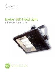 Evolve™ LED Flood Light - Commercial Lighting Products