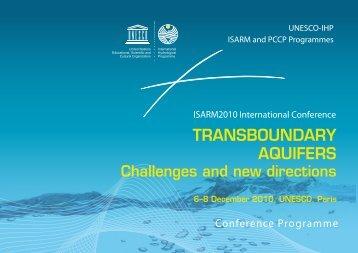 Final Conference Programme - Hydrology.nl